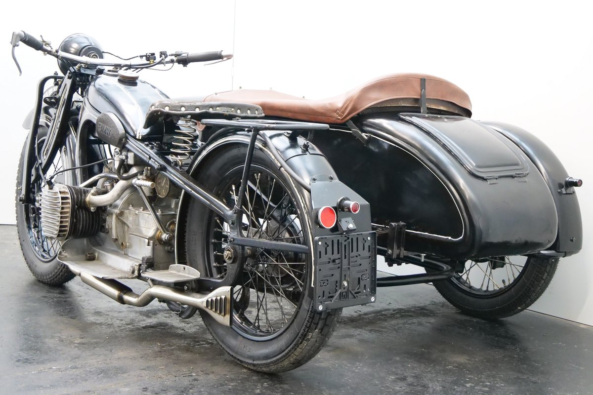 BMW R11 Combination 1933 750cc 2 cyl sv For Sale (picture 3 of 6)