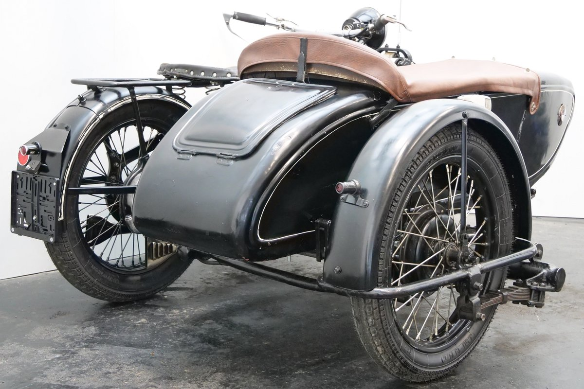 BMW R11 Combination 1933 750cc 2 cyl sv For Sale (picture 4 of 6)