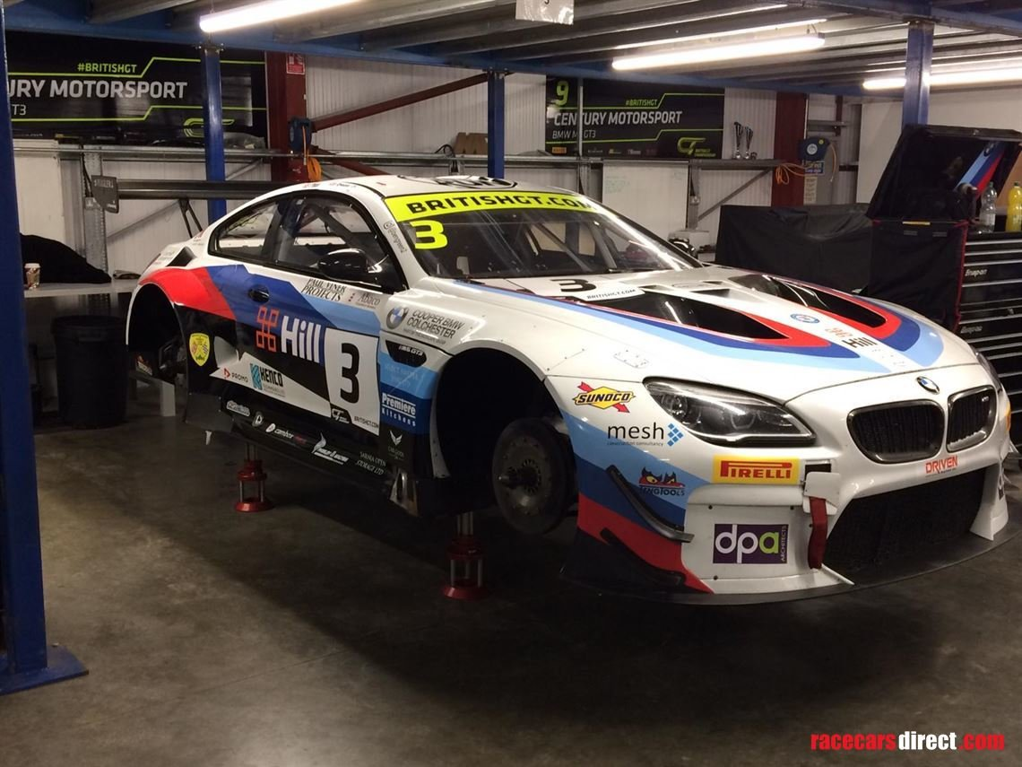 BMW M6 GT3 2016 EVO 2018 spec For Sale (picture 5 of 6)