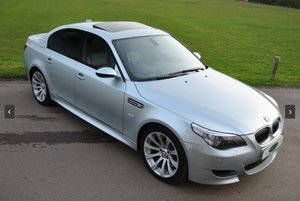 2007 BMW E60 M5 V10 Saloon - SILVERSTONE II For Sale