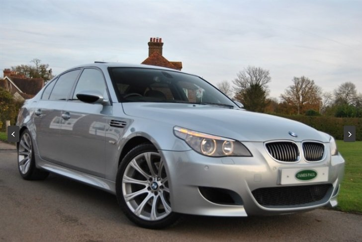2007 BMW E60 M5 V10 Saloon - SILVERSTONE II For Sale (picture 2 of 6)