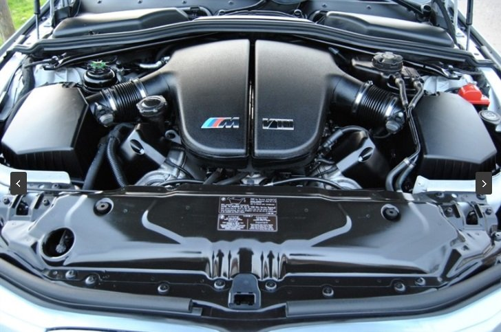 2007 BMW E60 M5 V10 Saloon - SILVERSTONE II For Sale (picture 5 of 6)