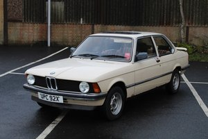 BMW 316 Auto 1982 - to be auctioned 31-01-20