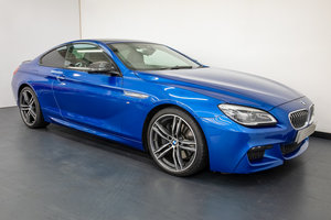 BMW 640d MSPORT LIMITED EDITION COUPE 2018