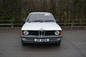 1982 BMW 316 1.8 Auto (E21)