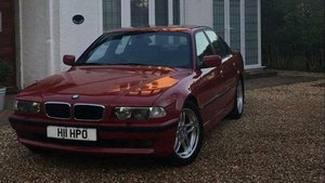 1999 BMW 740I M SPORT AUTO SALOON - ONLY 1 IN THE UK IN IMOLA RED For Sale