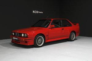 1990 M3 E30 sport evolution brilliant red