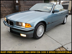 1994 BMW 3-Series 325I Convertible 5 Speed Hot-Seats $4.9k
