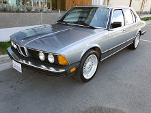 1985 BMW 735i e23 Auto Beautiful Cosmo Blue(~)Tan $7.9k  For Sale (picture 2 of 6)