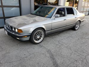 1988 BMW 750IL V12 4 Door Sedan Silver(~)Grey driver $2.9k