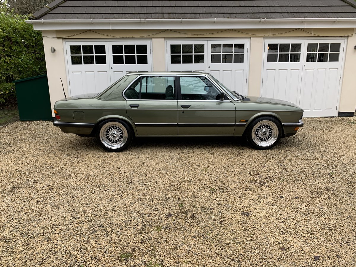 1987 BMW E28 525E 2.7 AUTO For Sale (picture 2 of 6)
