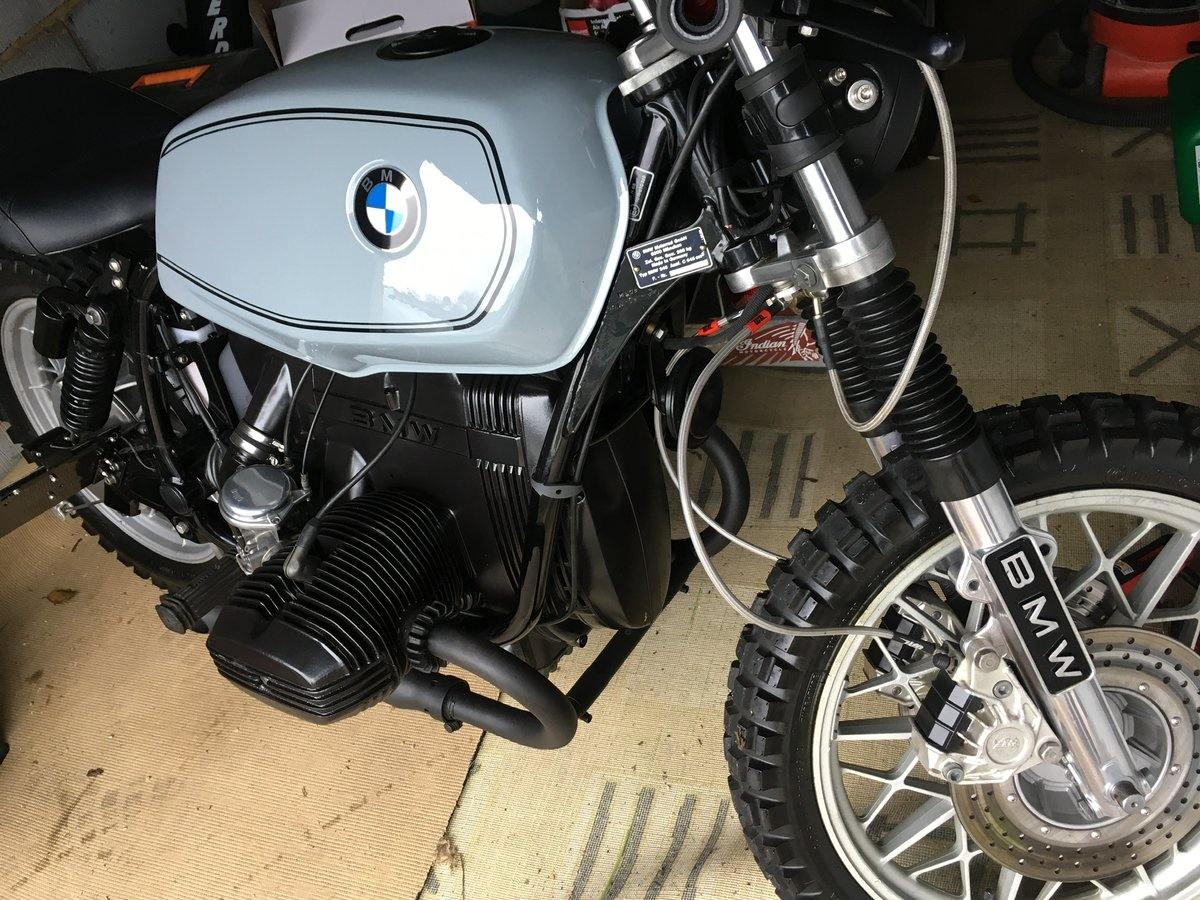 1979 Bmw r65 cafe racer/scrambler For Sale (picture 5 of 6)