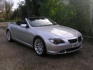 2007 bmw 630i sport convertible For Sale