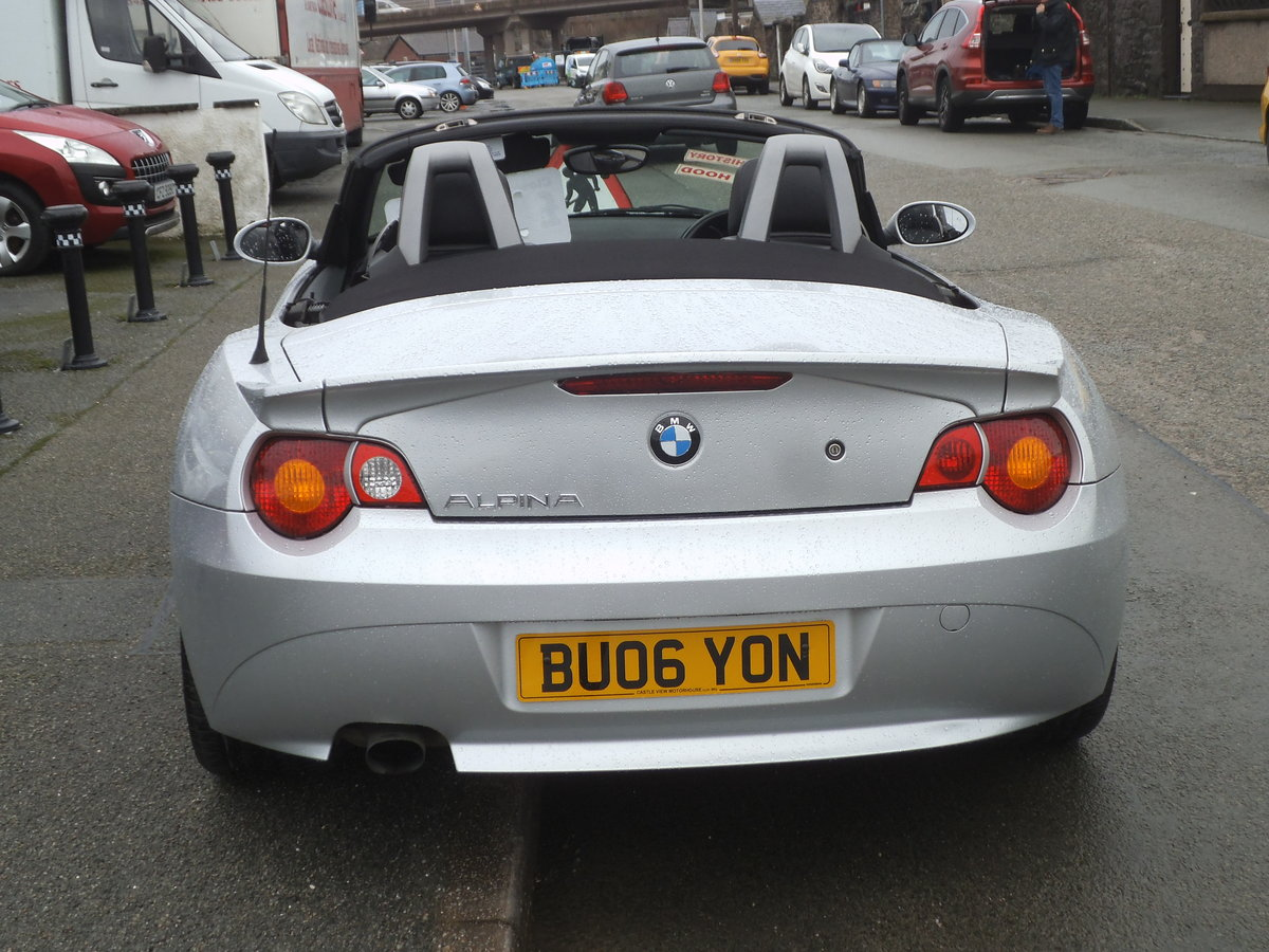 2006 BMW Z4 Roadster Alpina Replica For Sale (picture 5 of 6)