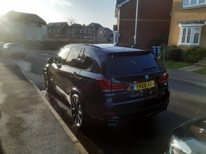 2018 BMW x5 stunning low mile. Rear seat entertainment