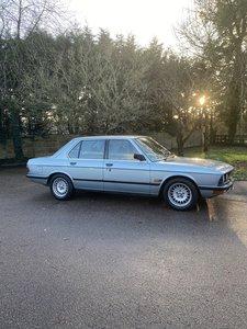 1983 BMW e28 528i SE