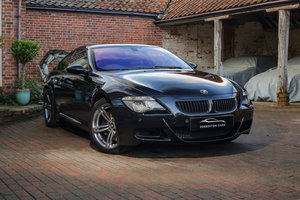 2005 BMW M6 V10 5.0 E63 Coupe (Sapphire Black with Black Leather)