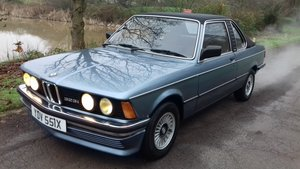 1981 BMW 323i E21 BAUR (3292/4595) CONVERTIBLE ~ RARE NOW! For Sale