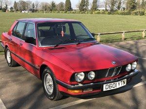1987 BMW E28 2.8i For Sale