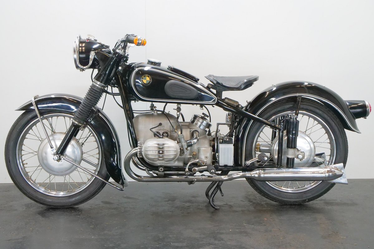 BMW R67/2 c.1953 600cc 2 cyl ohv For Sale (picture 2 of 6)