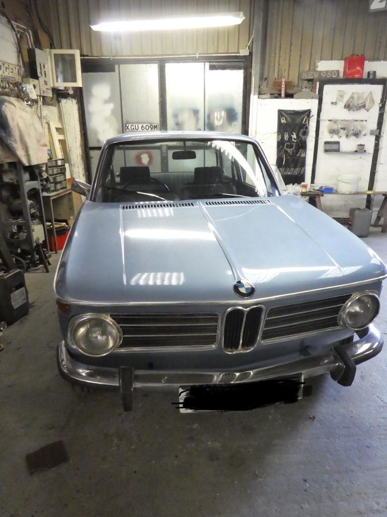 1972 BMW 2002 tii - Almost Fully Restored SOLD (picture 1 of 4)