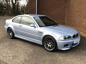 2005 BMW M3 SILVERSTONE INDIVIDUAL LIMITED EDITION