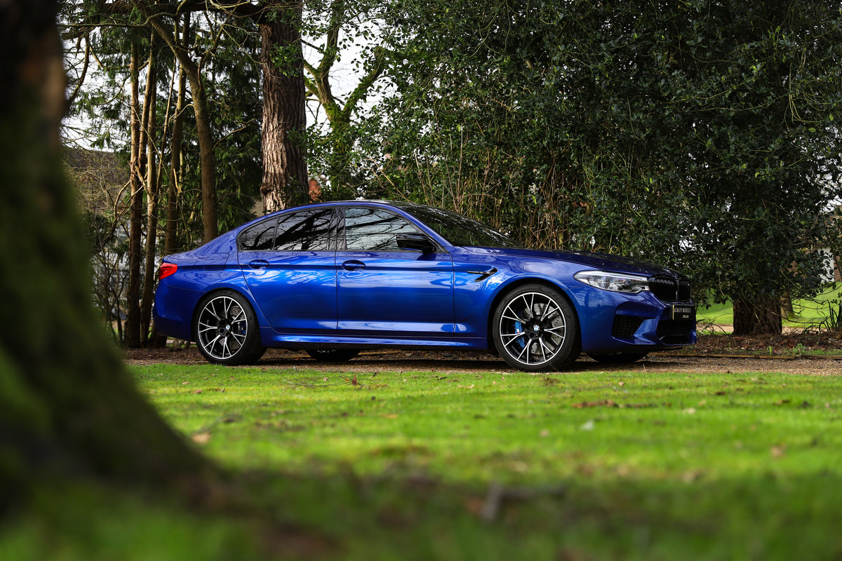 2019 AS NEW M5 COMPETITION - VERY LOW MILEAGE - HUGE SAVING  For Sale (picture 1 of 6)