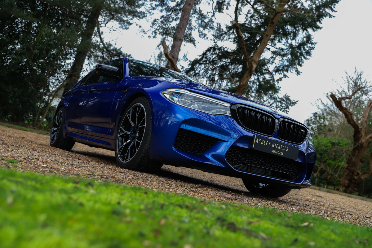 2019 AS NEW M5 - VERY LOW MILEAGE - HUGE SAVING For Sale (picture 1 of 6)