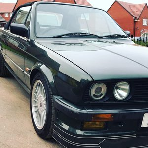 1990 E30 Convertible - Malachite Green - 3.5