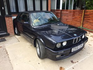 1989 BMW E30 325i Motorsport convertible