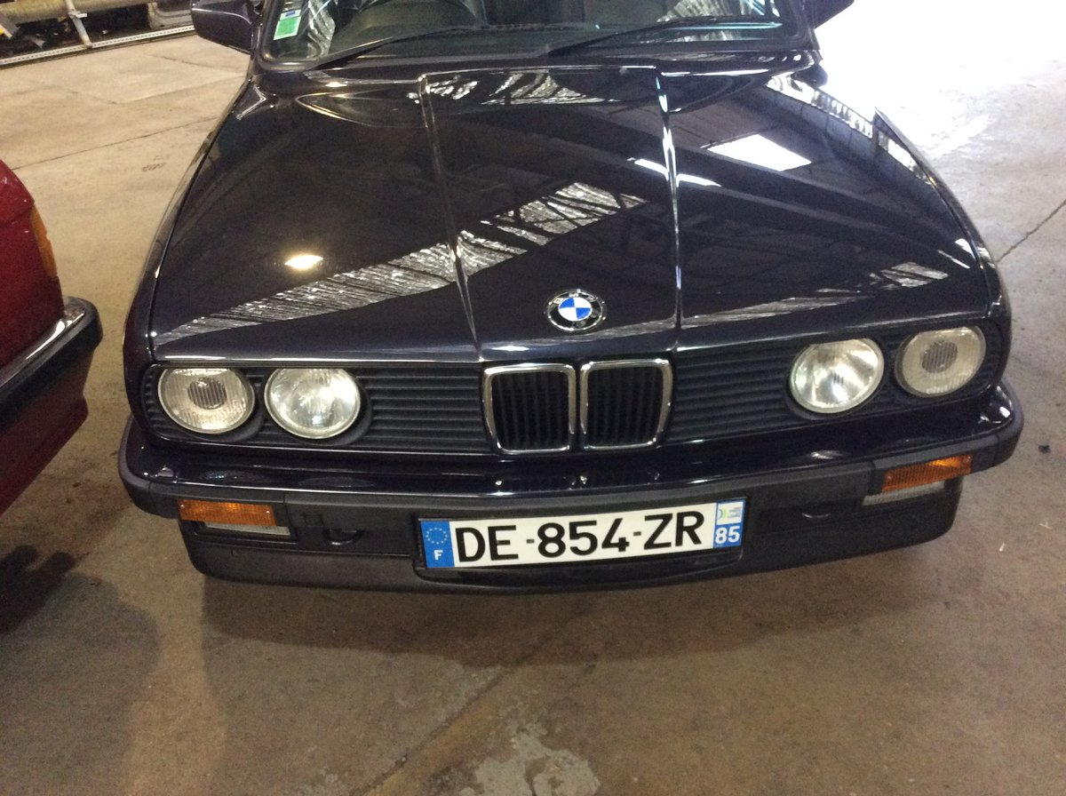 1988 325i motorsport convertable For Sale (picture 1 of 6)