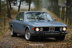 1972 BMW 3.0 CSi in fjord blue