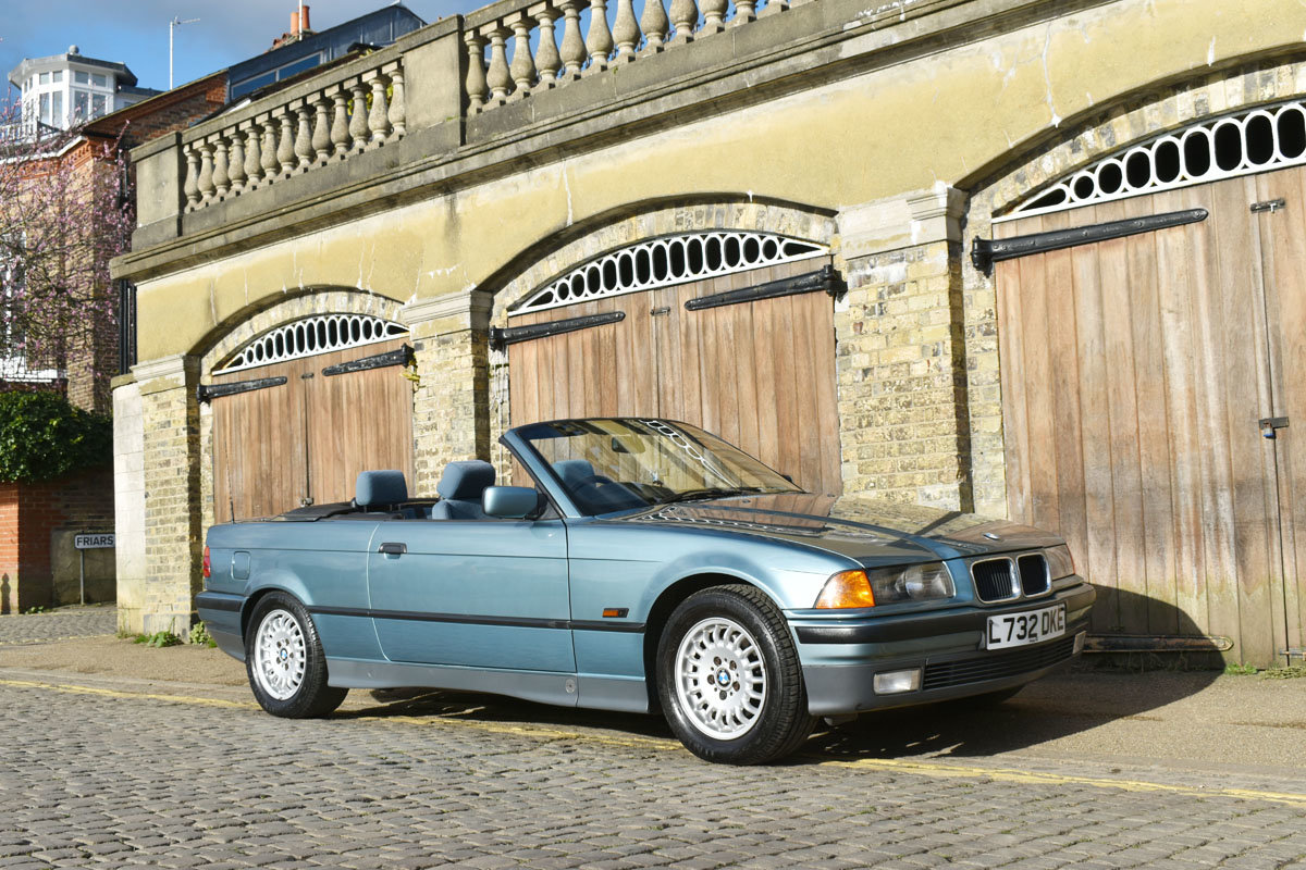 1993 BMW 325i Convertible 22 Feb 2020 For Sale by Auction (picture 1 of 6)