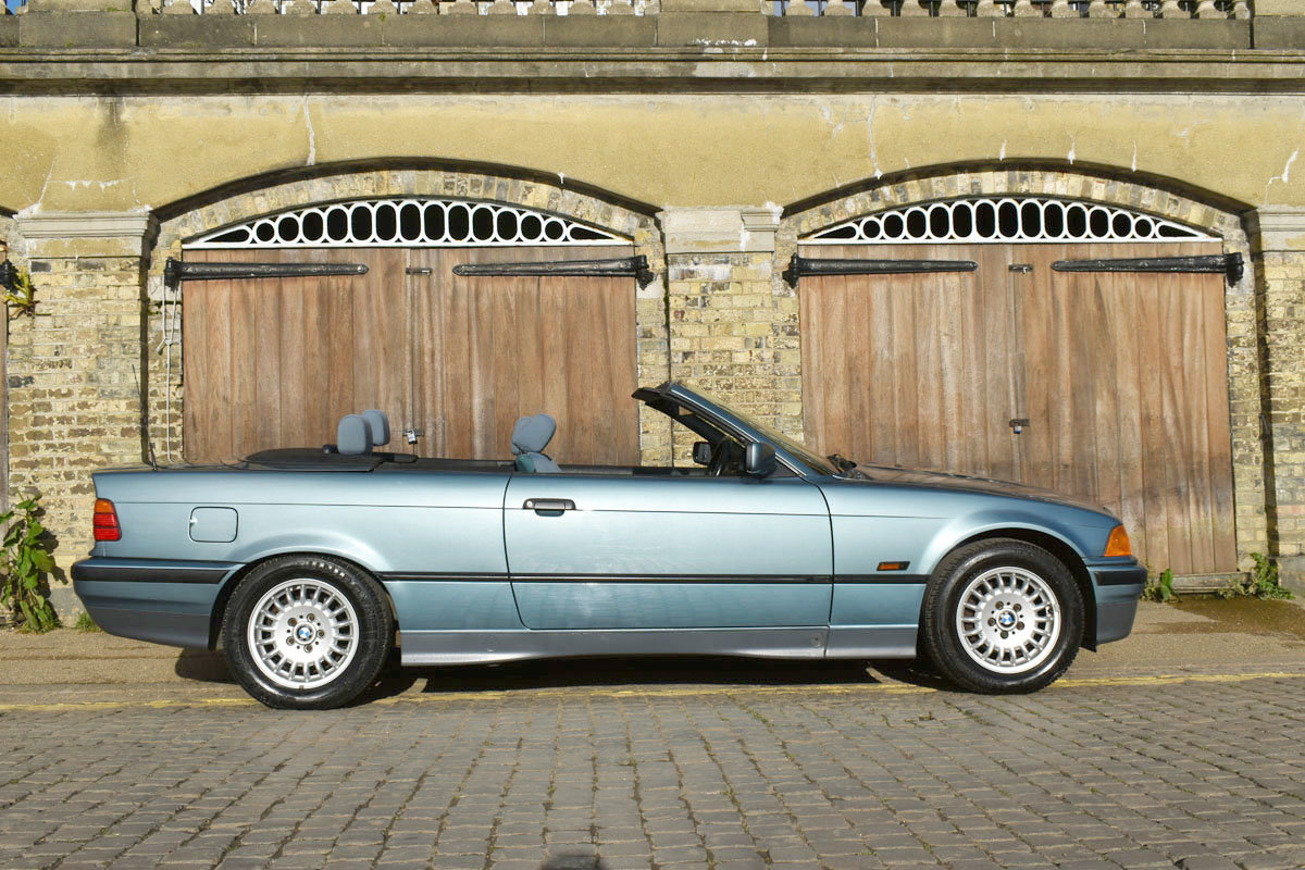 1993 BMW 325i Convertible 22 Feb 2020 For Sale by Auction (picture 6 of 6)