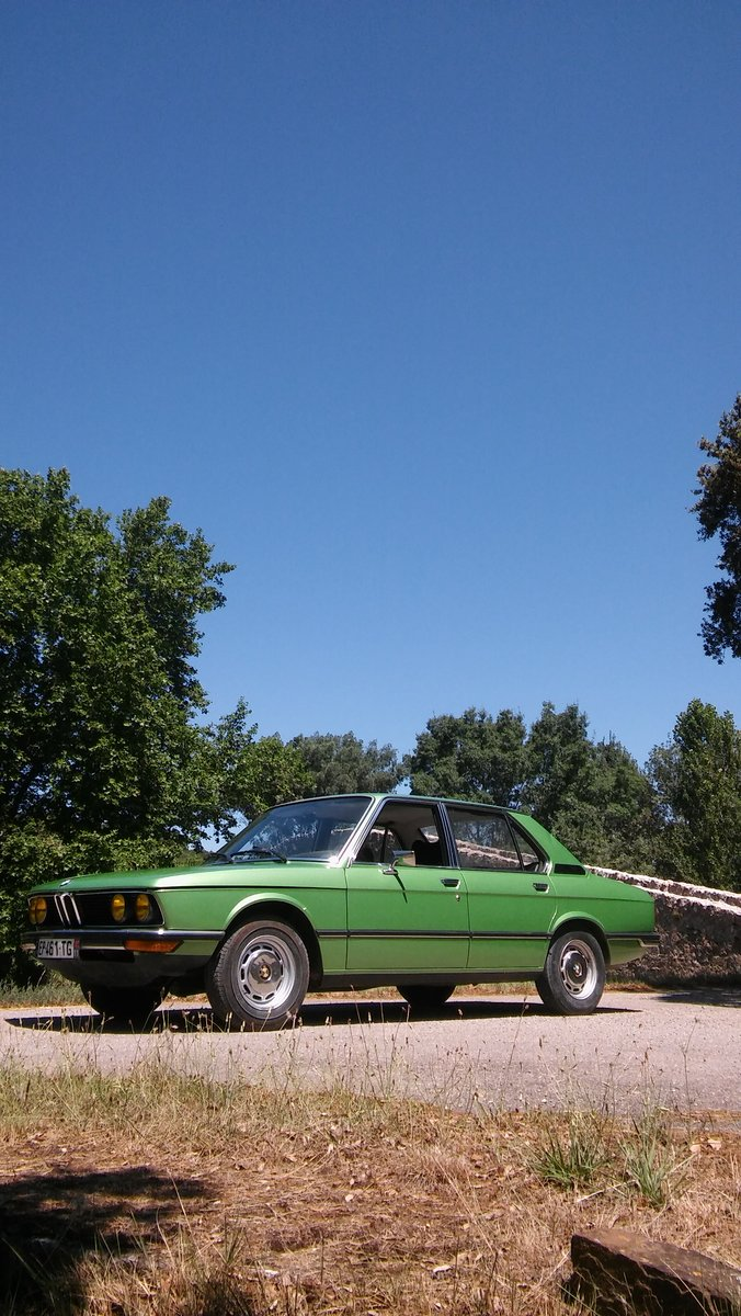 1975 BMW 520 early 5 series in rust-free condition For Sale (picture 1 of 6)