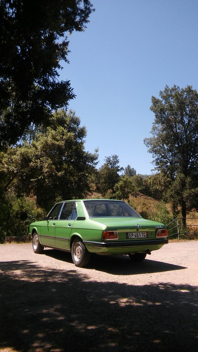 1975 BMW 520 early 5 series in rust-free condition For Sale (picture 2 of 6)