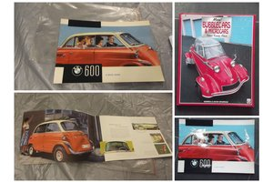 1961 BMW ISETTA PARTS AND MEMORIOBILIA FOR SALE For Sale