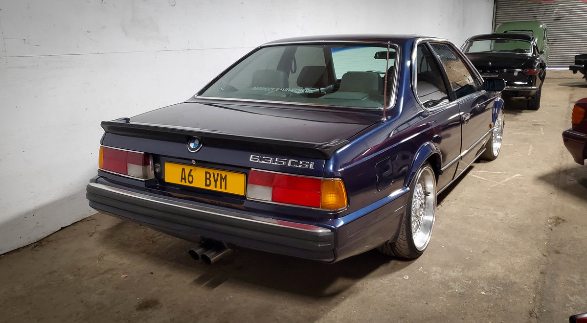 1988 BMW 635 CSI Highline For Sale (picture 2 of 6)