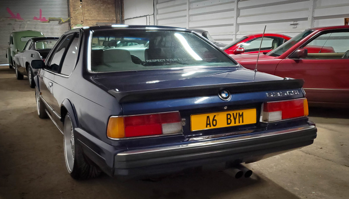 1988 BMW 635 CSI Highline For Sale (picture 3 of 6)