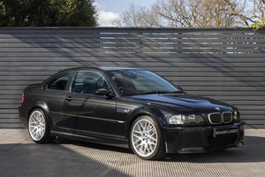 2003 BMW M3 CSL UK SUPPLIED LOW MILES SOLD