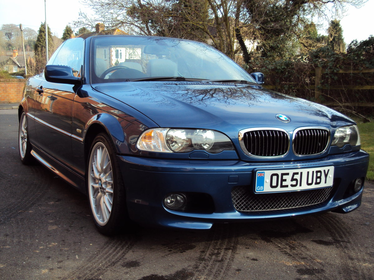 2002 BMW 330CI M-Sport Convertible RESTORED  For Sale (picture 1 of 6)