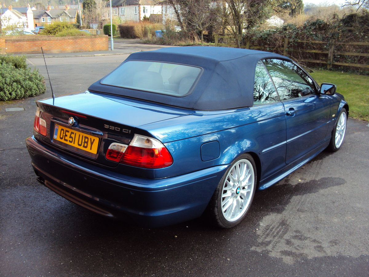 2002 BMW 330CI M-Sport Convertible RESTORED  For Sale (picture 2 of 6)