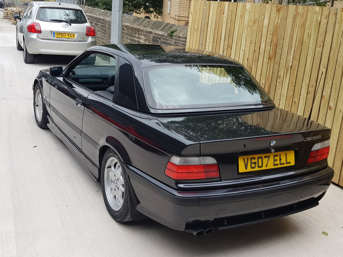 1999 BMW 328I CONVERTIBLE MTEC MANUAL WITH HARDTOP For Sale (picture 1 of 6)
