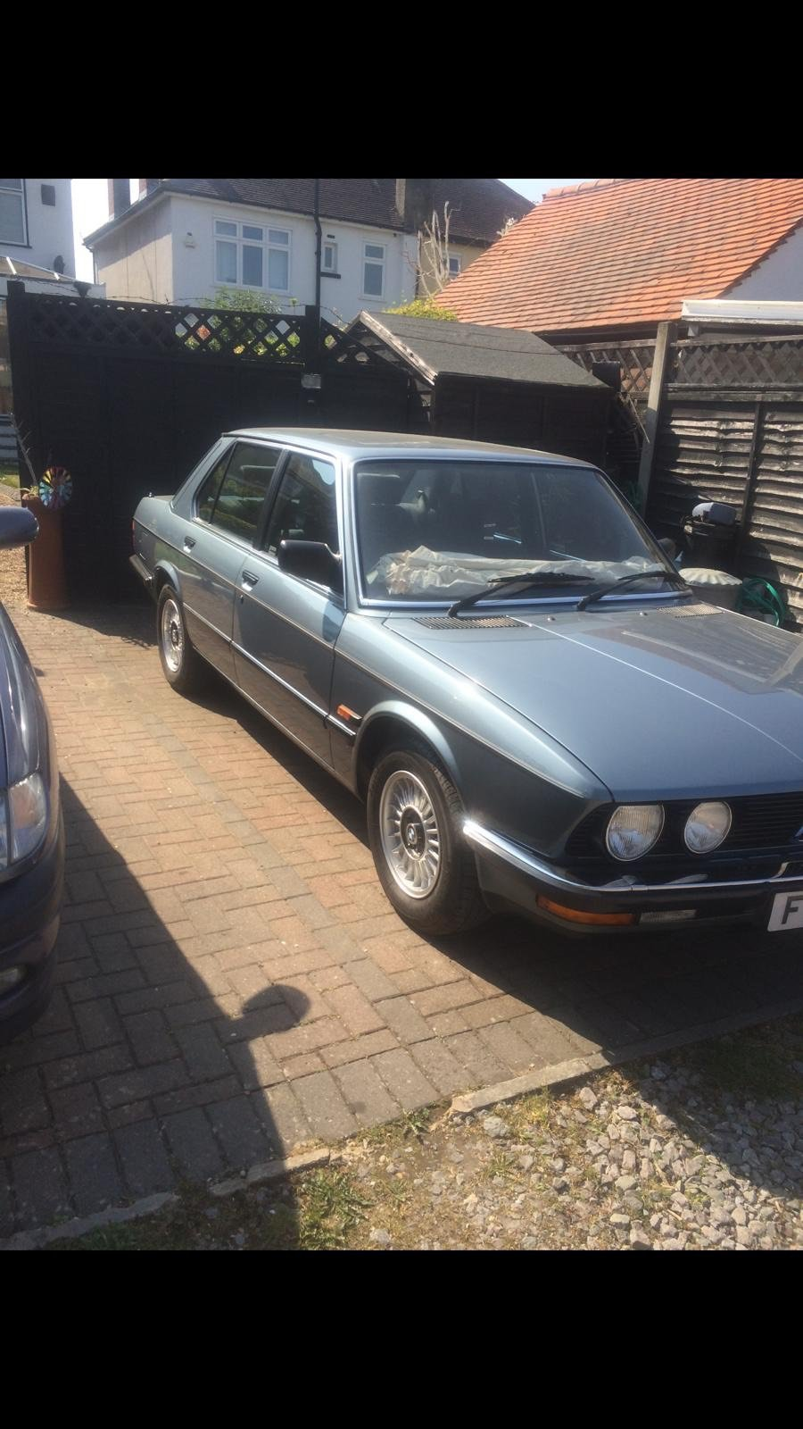 1988 Bmw e28  525e blue auto view the dross then view m For Sale (picture 1 of 4)