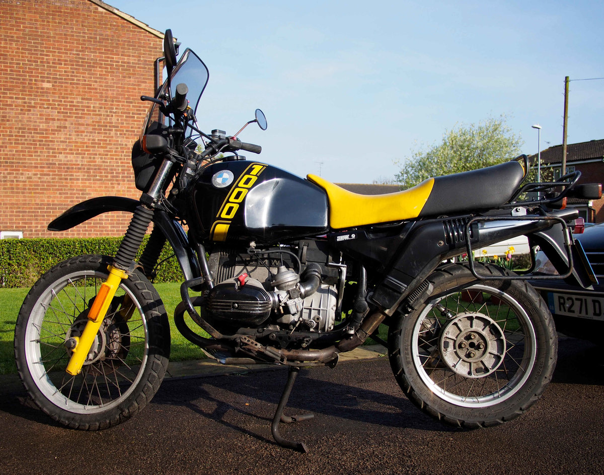 1990 BMW R100GS  For Sale (picture 1 of 5)