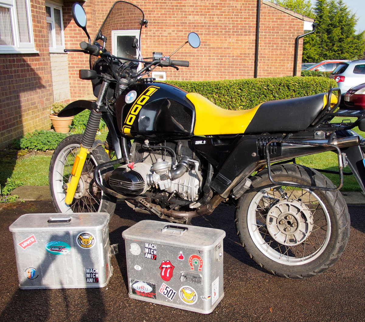 1990 BMW R100GS  For Sale (picture 3 of 5)