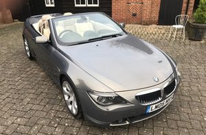2005 BMW 630 Convertible For Sale by Auction