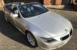2007 BMW 630 CONVERTIBLE For Sale by Auction