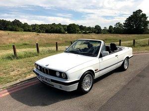 1989 BMW E30 325i Manual Convertible 59k Miles 1yr MOT