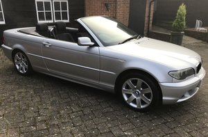 2004 BMW 318 SE Convertible For Sale by Auction